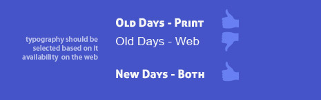 Only choose brand fonts that are avilable for web use.