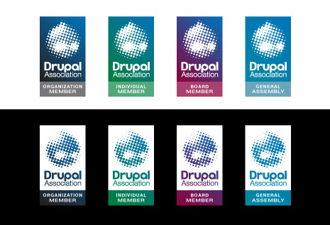 Drupal Association Badge Design 2b