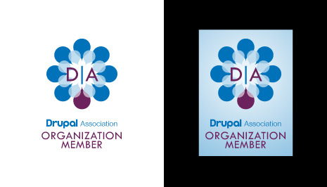 Drupal Association Badge Design 4b