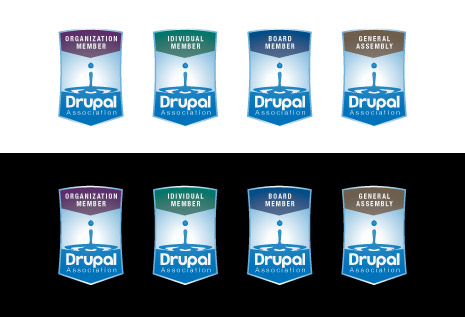 Drupal Association Badge Design 5b