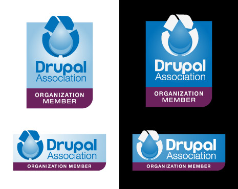 Drupal Association Badge Design 6a