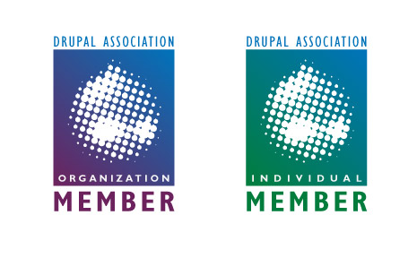 Drupal Association Badge Design Concept 2