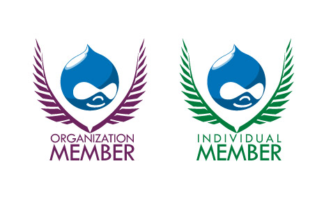Drupal Association Badge Design Concept 3