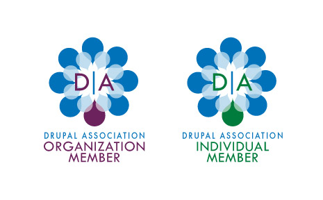 Drupal Association Badge Design Concept 4