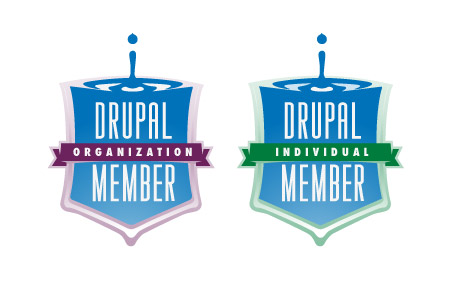 Drupal Association Badge Design Concept 5