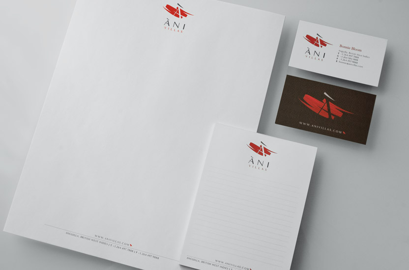 Ani Villas Stationary Set