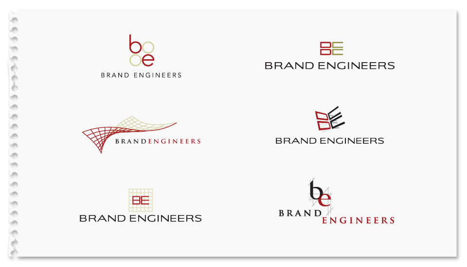 Brand Engineers Identity Concepts