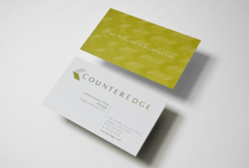 Counter Edge Cards Top View
