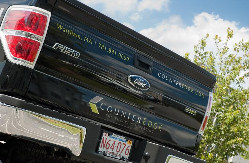CounterEdge pickup truck tailgate