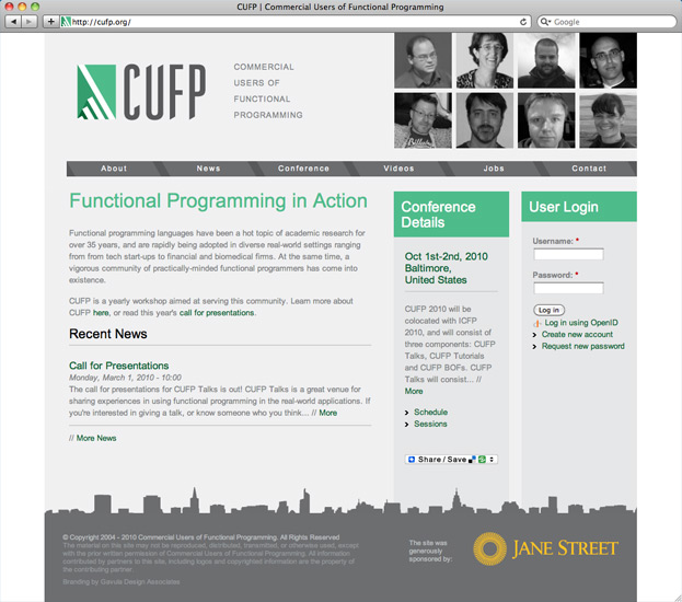 Commercial Users of Functional Programming (CUFP) Home Page