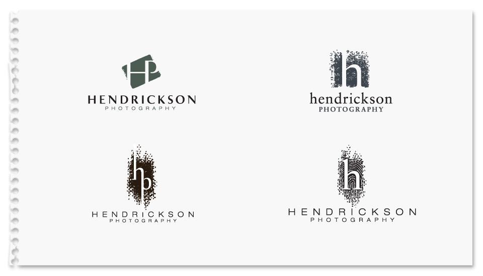 Hendrickson Photography Brand Identity Concepts
