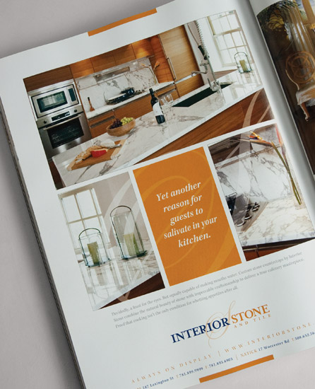 Interior Stone & Tile Advertisement