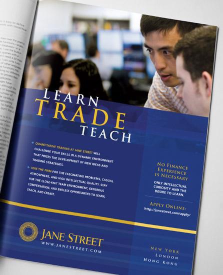 Jane Street Trader Advertisments