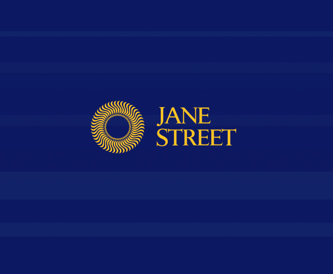 Jane Street Identity Stacked Logo