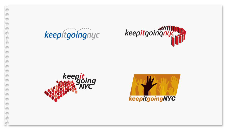 Keep it Going NYC Logo Concepts
