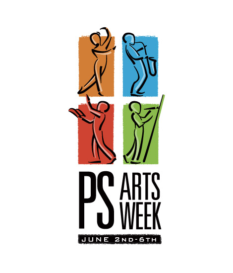 PS Arts Week master logo design