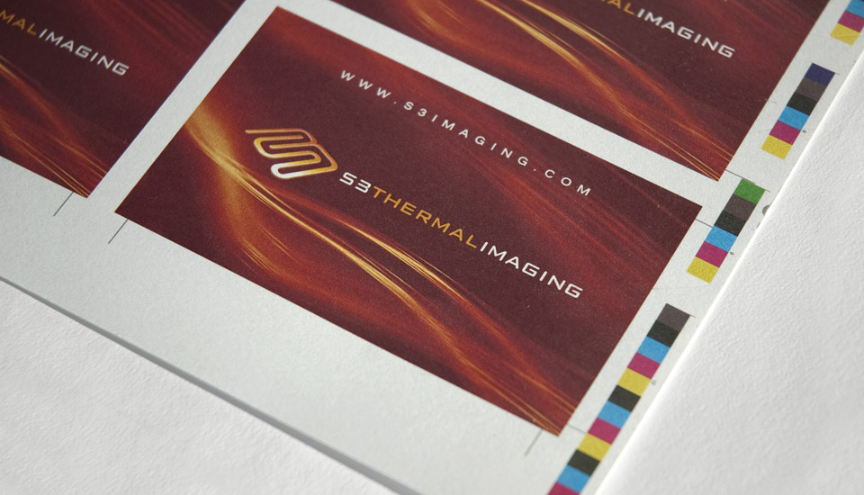 S3 Thermal Imaging Business Cards | Gavula Design