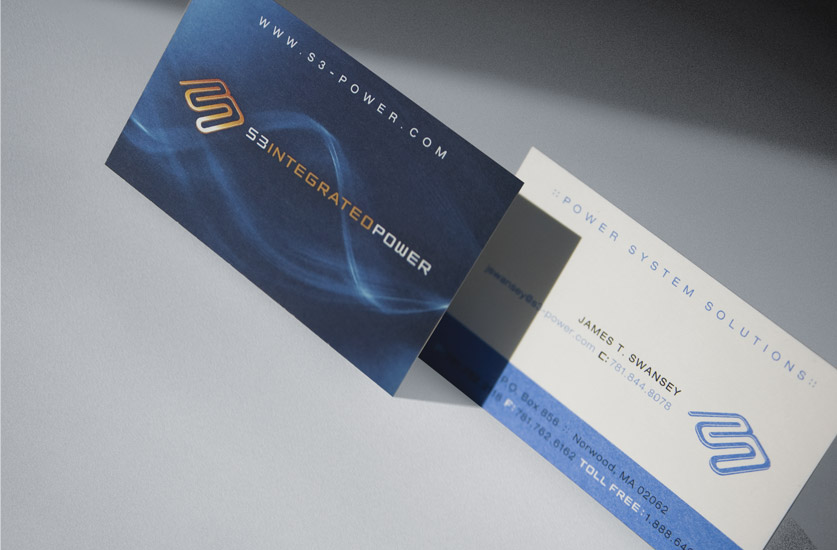 S3 Integrated Power Business Cards