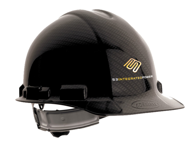 S3 Integrated Power Hard Hat