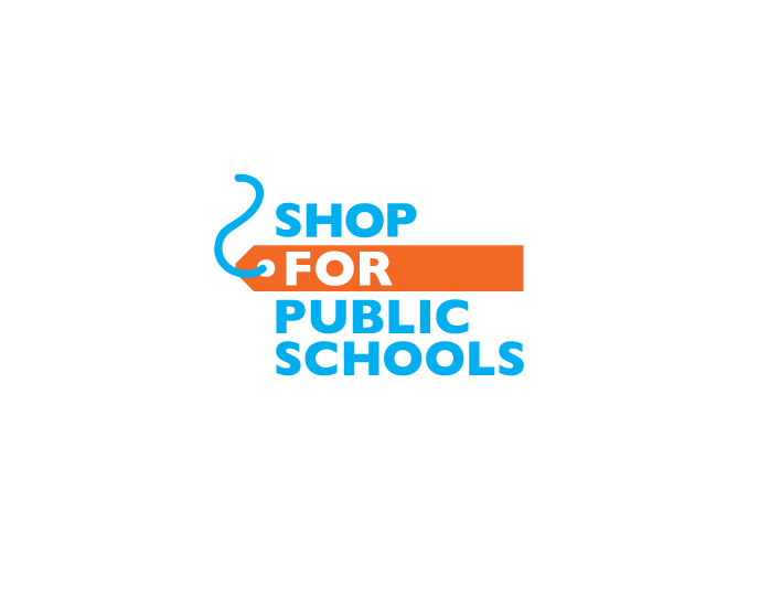 Shop for Public Schools identity