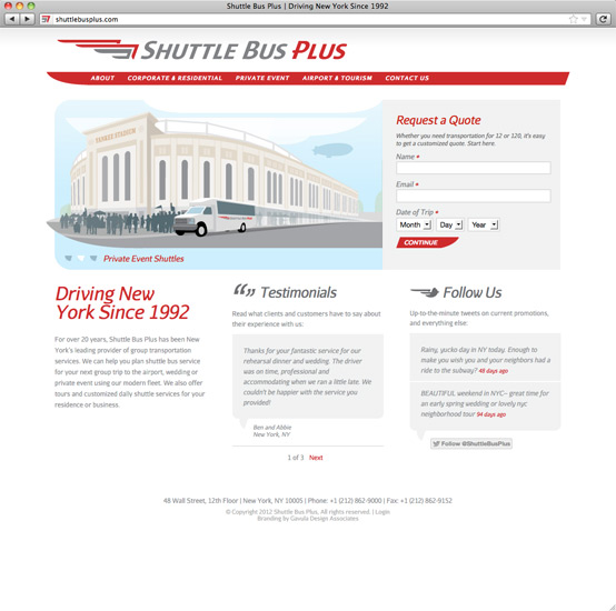 Shuttle Bus Plus Site Home