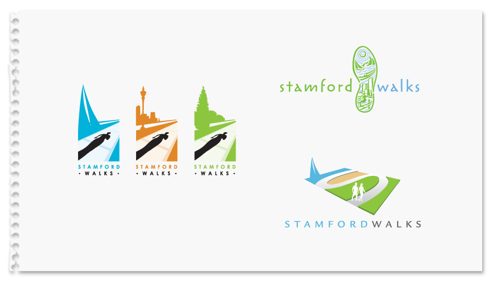 Stamford Walks Logo Concepts