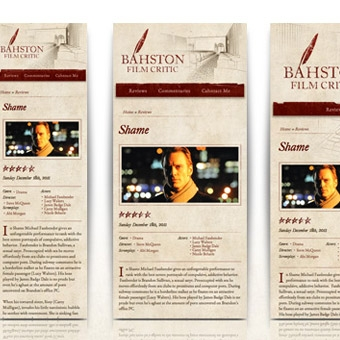 Bahston Film Critic Website