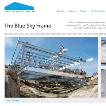 Blue Sky Building Systems Website