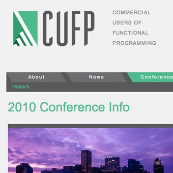 Commercial Users of Functional Programming (CUFP) website