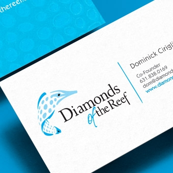 Diamonds of the Reef Business Cards
