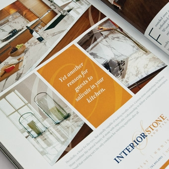 Advertisement for Interior Stone & Tile
