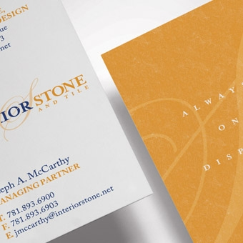 Interior Stone & Tile Stationery