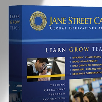 Jane Street Booth