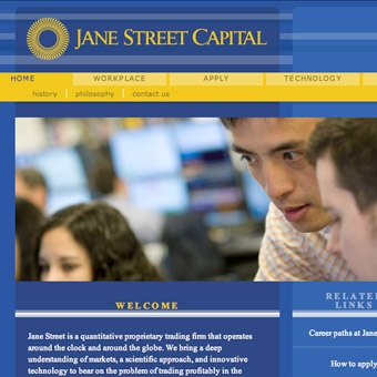 Jane Street Website