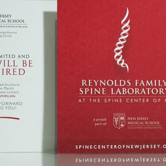 The Spine Center of New Jersey Symposium Collateral