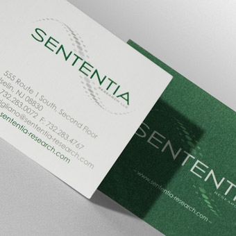 Sententia Research Business Cards