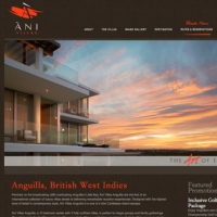 Ani Villas Website