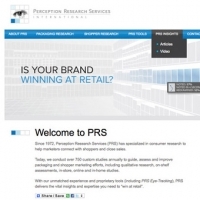 Perception Research Services Website